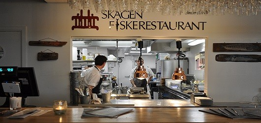 Skagen Fiskerestaurant Illum Rooftop